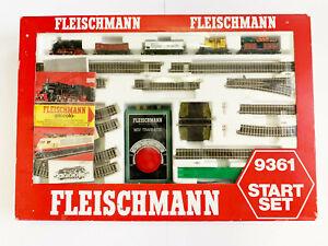 9361 Start-Set  - Fleischmann Spur N OVP Top