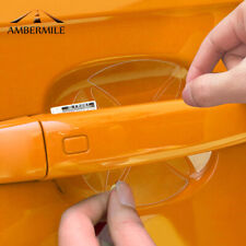 Clear Side Door Handle Protective Film for Mini Cooper R55 R56 R60 F56 F55 F60