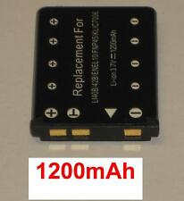 Batterie 1200mAh type NP-80 NP-82 Pour CASIO Exilim Card EX-S458