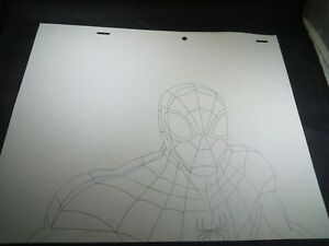 SPIDERMAN ANIMATION ART Comic Book LOT Ultimate Spider-Man Cels Artwork MARVEL
