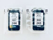 Genuine Canon Black PG 243 CL 244 Color Ink Cartridges for MG2920 MG3022 MG2420
