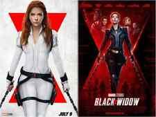 Black Widow Poster Avengers, movie Studio Decal High Quality Prints Scarlett