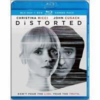 Distorted Blu Ray / DVD / Slipcover john Cusack Christina Ricci NEW