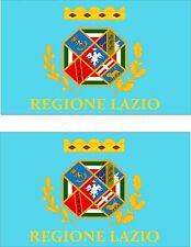 2x sticker Adesivo Adesivi decal macbook Vinyl auto moto bandiera lazio