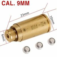 CAL Cartridge Red Dot Laser Bore Sighter Brass Boresight For Rifle Gun Scope UK