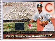 2007 UPPER DECK DIVISIONAL ARTIFACTS JERSEY ERIC CHAVEZ  OAKLAND  BOX80