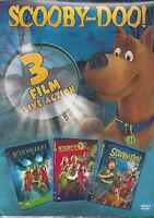 3 Dvd Box Cofanetto **SCOOBY-DOO** 3 film Mostri Scatenati Nuovo Slipcase