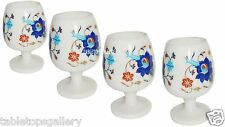 Marble 4 Pcs Wine Glass Lapis Inlay Gems Table Decor Casino Glass Gifis H1350