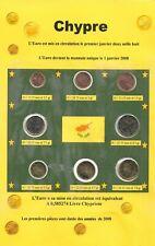 8 pièces EURO - CHYPRE - 2008 - Série - FDC -  (Sous vide)