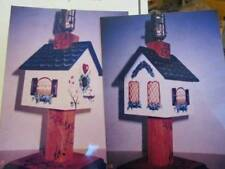 Springtime Birdhouse Lamp Painting Packet-Kathy Owens