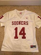 Women's Oklahoma Sooners Jersey Size M - Sam Bradford #14