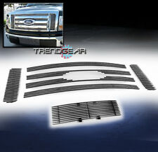 2009-2012 FORD F-150 STX XL XLT UPPER + BUMPER LOWER BILLET GRILLE INSERT COMBO