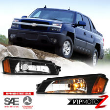 2002-2003-2004-2005-2006 Chevy Avalanche Z71 Body Cladding Bumper Signal Lights