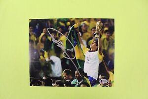 Ricardo Kaka Signed Autograph Brazil AC MILIAN 8x10 Photo Soccer Futbol BAS COA