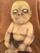 Halloween UGLY ZOMBIE BABY 16 INCH LATEX DECOR Prop Haunted House NEW