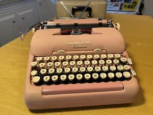 Vintage Smith Corona Electric Typewriter Pink - Good Used Condition - Needs Cord