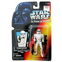 Vintage 1995 Star Wars Power Of The Force Figure Stormtrooper POTF