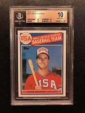1985 TOPPS #401 MARK MCGWIRE Rookie RC BGS 10