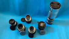 Lot of 6 Vintage lens Carl Zeiss;Meyer-Optik; LOMO;Sankor;Helios + Sony E-Mount
