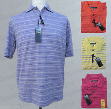 Polyester V Neck Basic Striped T-Shirts for Men