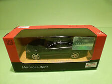 RASTAR 10029 MERCEDES BENZ CL63 AMG - BLACK 1:43 - NEAR MINT IN BOX