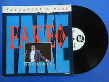Alexander O'Neal - Fake 88 House Mix, Tabu 652949-6 Ex Condition