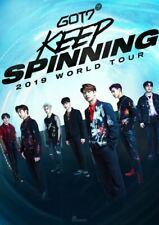 GOT7 2019 WORLD TOUR KEEP SPINNING OFFICIAL GOODS LIGHT STICK DECO STICKER SET