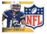 2014 Keenan Allen Panini Prestige NFL Shield Die Cut - San Diego Chargers