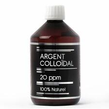 Argent Colloïdal 20 PPM - 500ML NUTRIVIE