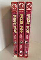 Pixie Pop Magna Books Volumes 1-3 Set English Ema Toyama