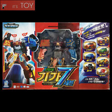 TOBOT GIGA SEVEN 7 X Y Z D Taekwon K Terracle Cargo Transformer Figure Young Toy