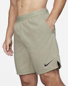 Nike Pro Flex Vent Max Shorts Men's Light Army Sportswear Activewear Casual