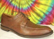 size 11 D mens brown leather ALLEN EDMONDS Jackson oxfords dress shoes