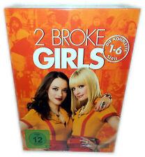 2 Broke Girls - komplette Serie (Staffel/Season 1,2,3,4,5,6) 1-6 [DVD] Deutsch