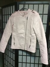 girls pink pho leather jacket - Lefties - 11-12 years