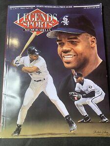 1992 Legends Sports Magazine Vol. 5 #2 Frank Thomas w/ Uncut Cards Magic Puckett