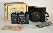 "RUSSIAN USSR ""ZENIT-ET"" + INDUSTAR-50-2 lens + BOX+ GUIDE (1)"