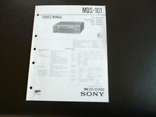 Original Service Manual Schaltplan  Sony MDS-101