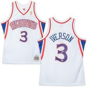 Autographed Allen Iverson 76ers Jersey Fanatics Authentic COA Item#9799097