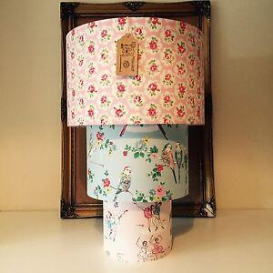 Handmade Lampshade CHOICE Cath Kidston Fabrics Size Style Cottage Chic MTO