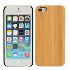 Hot NEW Natural Walnut Wood Bamboo+PC Wooden Combo Phone Case for iPhone5/5S