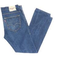 Levi's Levis Jeans 504 Straight W34 L32 blau stonewashed 34/32 -B2055