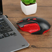 UK 2.4Ghz Mini Wireless Cordless Optical Gaming Mouse Mice USB for PC