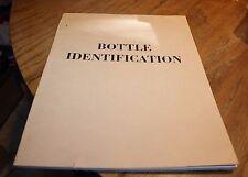 Bottle Identification