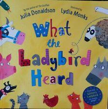 What the Ladybird Heard (Paperback) Julia Donaldson - Childrens Book - Very Good