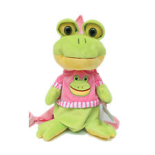 Kids Toddler Froggy Backpack Walk Help Keeper Safety Anti-lost Harness w Leash