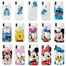 Cartoon Stitch Minnie Soft Phone Case Cover For iPhone 11 Pro Max XS XR 6 7 8