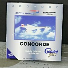 NIB British Airways CONCORDE SST 1:400 diecast model Gemini Jets G-BOAC GJBAW025