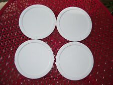 4 NEW Corning Corelle 28 oz Cereal Bowl Covers Lids 428-PC FREE SHIPPING