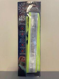 Illumiseen Hi-Viz LED Belt 2.0 Safe and Seen USB Rechargeable 8 colors